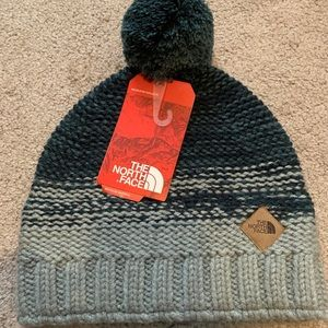 North Face Antlers beanie blue, gray
